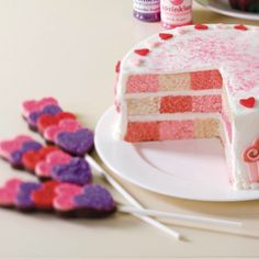 Learn how to make your own Valentine's Day Cake from Wilton!