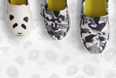 🐼 @TOMS - Shop the vegan slip-on Panda collection supporting WildAid efforts on http://www.styleforfree.com/#stylebuzz