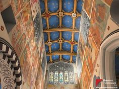 Ceiling and clerestory of 15th century church