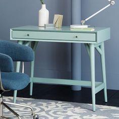Mid-Century Mini Desk - Oregano