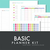 Fresh Paperie Studios | Weddings | Printables | Graphic Design: How to get organized! New Printable Planner Worksheets Listed - Instant Download now available on Etsy.com!