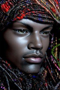 African American Barbie Doll - / OOAK Repaint Doll by Laurie ...