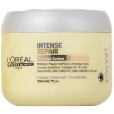 Masca Intense Repair pentru par uscat 200 ml L'oréal Paris, Vaseline, Loreal, Shampoo, Personal Care, Bottle, Dry Hair, Self Care, Petroleum Jelly