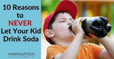 Many of us have opted for healthier choices for ourselves and our family. It certainly isn't an easy process to break bad habits and relearn everything you've been taught about food. This is why it'seven more important to stop bad habits before they start, whenever possible. We gave you 10 reasons to dump diet soda, […]