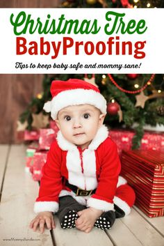 5 easy tips to baby proof your Christmas tree | These hacks will keep your Christmas decorations intact, baby safe and mommy sane!