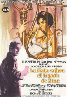 La gata sobre el tejado de zinc. Increíble como trata las relaciones humanas. Me quedo con el llanto de Paul Newman y el coraje de Elisabeth Taylor. Qué película!!