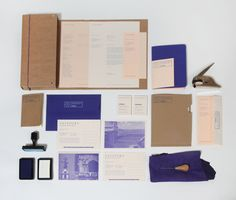 This color application could be something we consider for our palette? Really subtle, refined.    Passport (design studio of Jonathan Finch and Rosalind Stoughton)