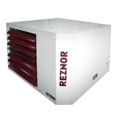 Reznor Power Vented Liquid Propane Gas Fired Unit Heater with BTU Input, 87150 BTU Output, EI/Spark Ignition and Multi-Try Direct Spark Ignition With Timed Lockout Shop Heater, Garage Heater, Heat Exchanger, Gas Fires, Garage Shop, Heating Systems, Locker Storage, The Unit, Garage