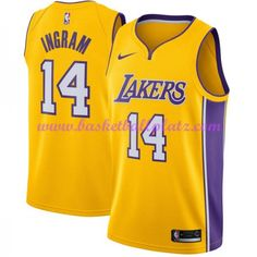 Los Angeles Lakers Trikot Herren 2018-19 Brandon Ingram 14  Icon Edition  Basketball Trikots NBA Swingman 144025e42