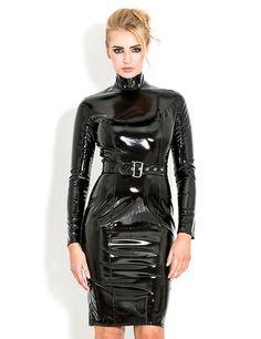 Latex Wear, Latex Dress, Latex Outfit, Fetish Fashion, Latex Fashion, Mode Latex, Leather Catsuit, Vinyl Clothing, Vinyl Dress
