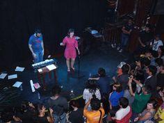 El grupo La Monja Enana en la Noche de Barranco - Abrii 2010