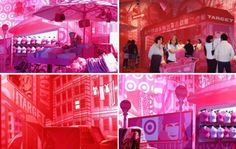 Designed byAtomic Designs, inspired by Avi Adler,a Pop-up Store for Target that demonstrates the creative use of fabric in temporary architecture.