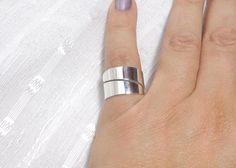 45,00 € - Bague de pouce en argent anneau ajustable de pouce anneau