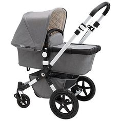 Buy Bugaboo Cameleon3 Classic+ Pushchair, Grey Melange Online at johnlewis.com