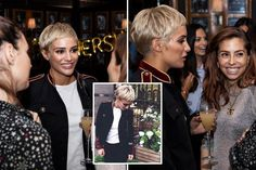 FRANKIE Bridge debuted her boldest hairdo ever while hanging out with reality star Binky Felstead in London last night. The Saturdays singer turned heads with her very dramatic new style after swap…
