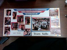 Multi-photo 12x12 2 page layout