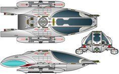 Star Trek type 14 shuttle
