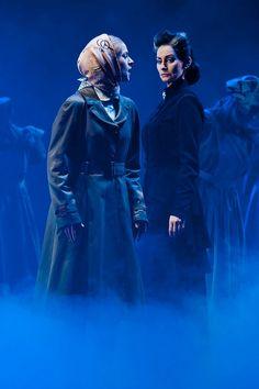 Pia douwes and Lucy Schrer in Rebecca das Musical prologue..... Ich han getraumd von Manderly....