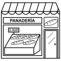 dibujo panaderia - Buscar con Google