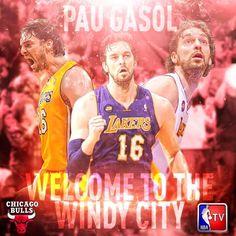 Pau Gasol goin to Chicago