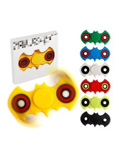 Fidget Spinner - Bat  DK's billigste - dag til dag levering i DK  Rigtig godt legetøj til alle aldre - kan bruges til afstressning, tricks eller blot til at holde hænderne beskæftigede