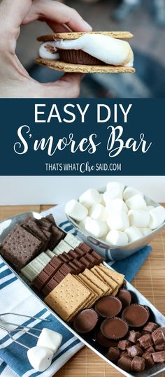 Easy DIY S'mores Bar