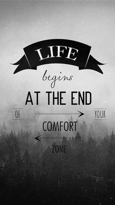 Forget Comfort | Covetboard Quotes
