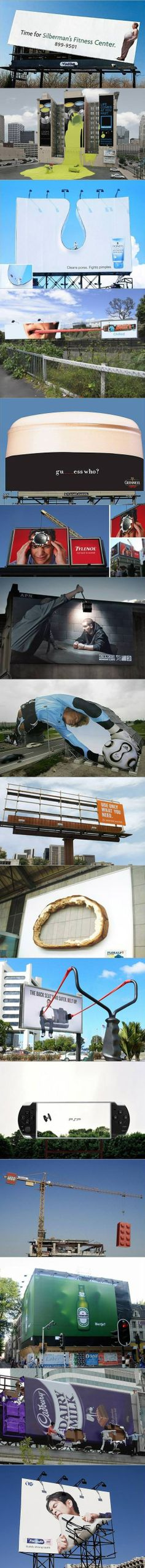 Awesome billboards. Other countries can be so creative.