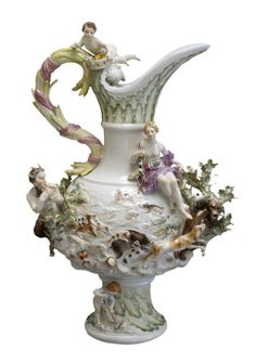 more amazing Rococo, Meissen porcelain