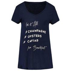 Nikkie T-Shirt Breakfast marine online kopen | Berden The Basement
