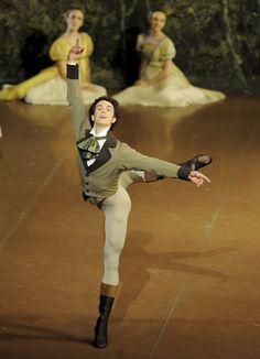 William Moore in Onegin, Stuttgart Ballet