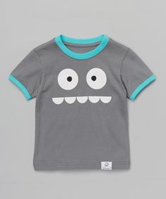 Take a look at the Doodle Pants Gray & Blue Silly Monster Tee - Infant & Toddler on today! Baby Boy Outfits, Kids Outfits, Superhero Tshirt, Toddler Girl, Infant Toddler, Baby Couture, Kids Fashion Boy, Bitty Baby, Pink Zebra