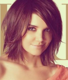 long asymetrical haircuts with side bangs - Google Search