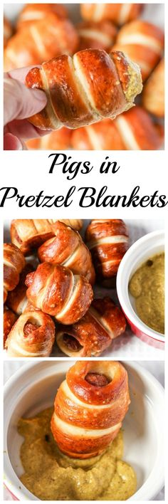 Perfect Snack for Football Playoffs – Pigs In Pretzel Blankets! #HomeBowlHeroContest