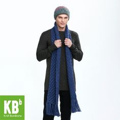 38c2aec867abae 2017 KBB Spring Classic Pure Sapphire Cute Lace Style Warm Winter Yarn  Knitted Men Women Neck Cover Scarf Scarves Wrap-in Scarves from Men's  Clothing ...