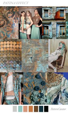 PATINA EFFECT by PatternCurator for Fashion Vignette