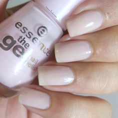 Essence - Sweet As Candy Essence Nail Polish, Neutral Nail Polish, Jelsa, Little Things, Nail Care, Swatch, Candy, Makeup, Sweet