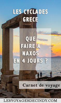 Que faire à Naxos en Grèce ? #cyclades #voyage #blog