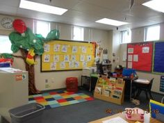 Cute Disney Classroom Decoration Ideas! Love the ideas of putting hidden Mickeys in the room and having the name tags on the cubbies be Mickey heads