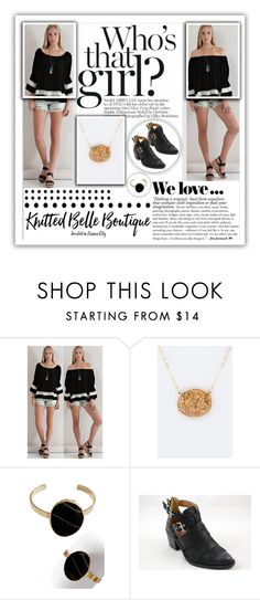 """""""Knitted Belle Boutique.10"""" by samirhabul ❤ liked on Polyvore featuring Entro, Zara, Blandice and knittedbelleboutique"""