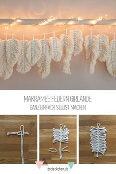macrame plant hanger+macrame+macrame wall hanging+macrame patterns+macrame projects+macrame diy+macrame knots+macrame plant hanger diy+TWOME I Macrame & Natural Dyer Maker & Educator+MangoAndMore macrame studio Macrame Projects, Diy Projects, Feather Garland, Diy And Crafts, Crafts For Kids, Recycled Crafts, Ideias Diy, Boho Diy, Creations
