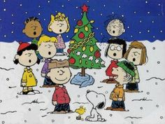 Get in the holiday spirit with cartoons! Charlie Brown