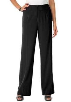 Plus Size Bi-Stretch Pants