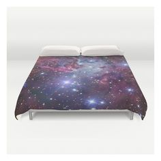Nebula Galaxy Duvet Cover ($129) ❤ liked on Polyvore featuring home, bed & bath, bedding, duvet covers, king bedding, king size duvet insert, microfiber duvet, king size duvet and twin xl bedding