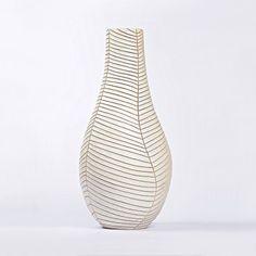 Francisco Gálvez. Jarrón de cerámica refractaria. Colección 2015