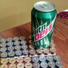 And I am pretty positive I will have enough shotgun shells left over to make coasters for our house on that beautiful hill Redneck Crafts, Ammo Crafts, Bullet Crafts, Cork Crafts, Crafts To Sell, Shotgun Shell Art, Shotgun Shell Crafts, Shotgun Shells, Bullet Shell Jewelry