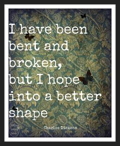 Charles Dickens Great Expectations Quote  8X10 by paperlovespen, $15.00