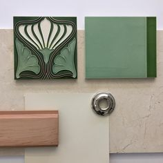 NB Design Group | North Bend, WA | Interior Design | Art Nouveau Bathroom in progress