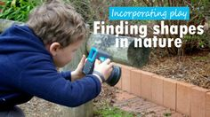Photographing shapes in nature Simple Math: Finding Shapes in Nature