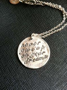 Silver Inspirational Jewelry $21
